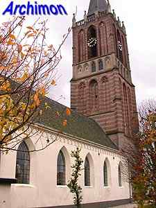 Houten (U): reformed church